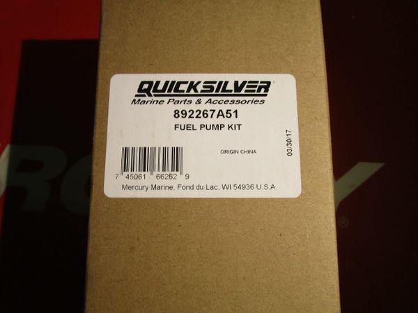 NEW Quicksilver fuel pump kit 892267A51