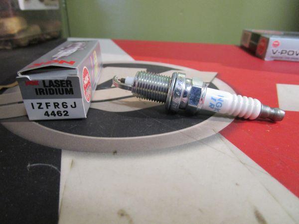 NGK new spark plug IZFR6J stock # 4462 Laser Iridiuim