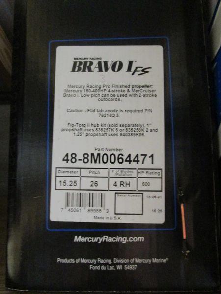 Bravo I FS 48-8M0064471 26 pitch right hand no hub