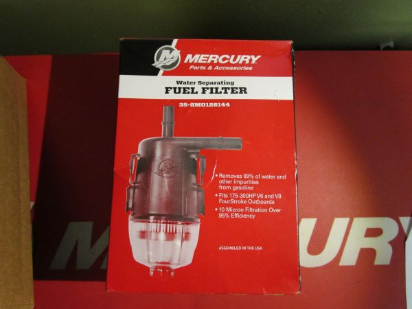 Mercury Water Separating fuel filter 35-8M0126144