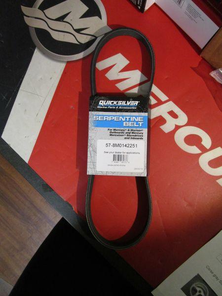 Quicksilver Serpentine Belt 57-8M0142251