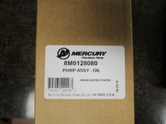 NEW by Mercury oil pump assy 8M0128080