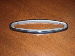 Slimline Pop up CLeat bezel stainless steel