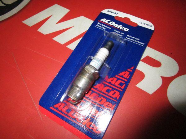 AC Delco spark plug MR43T