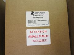 new by Mercury air compressor 8M0060052 FREE SHIPPING