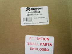 NEW Mercury air compressor 8M0060053