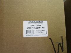 8M0063279, 8M0133589, 8M0060051 new by Mercury air compressor