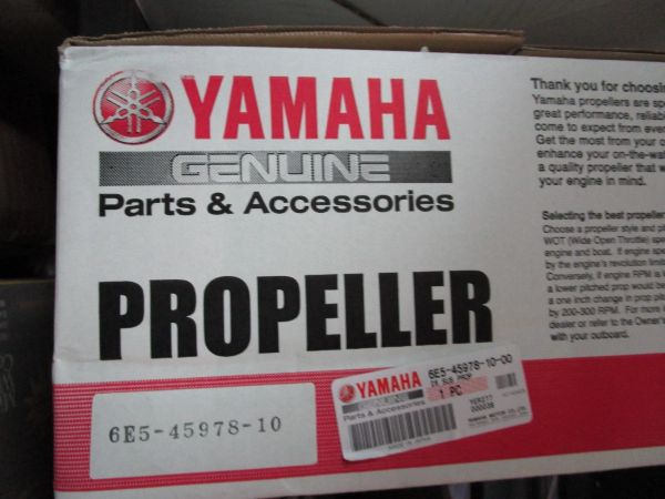 NEW Yamaha drag 20 pitch propeller