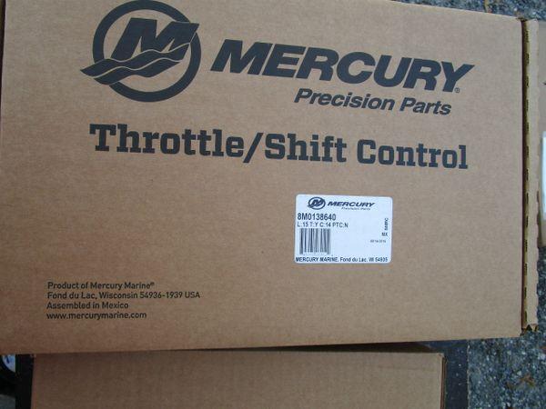 NEW Mercury Throttle/Shift Control 8M0138640