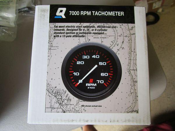 NEW Mercury 7000 RPM Tachometer 79-895283Q05