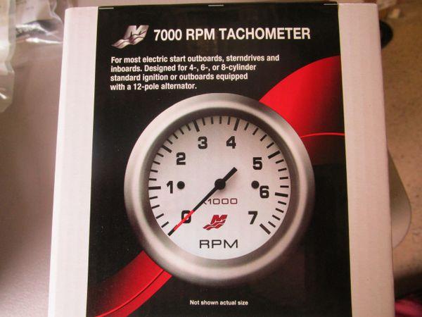 NEW Mercury Tachometer 7000 RPM 79-895283A45