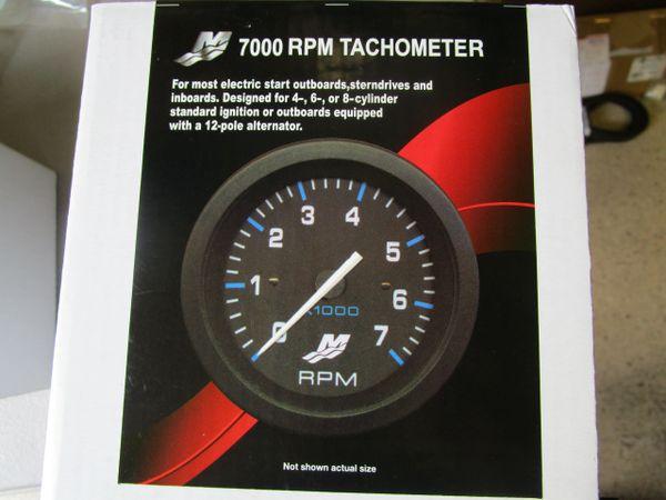 NEW Mercury Tachometer 7000 RPM 79-895283A05