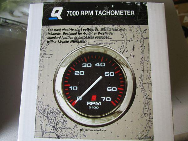 NEW Mercury Tachometer 7000 RPM 79-895283Q65