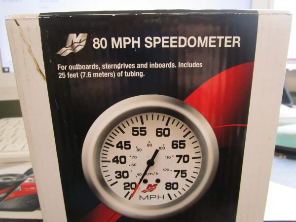new Mercury 80 MPH Speedometer 79-895285A44