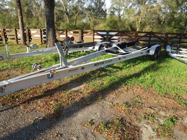 Used 30' aluminum boat trailer