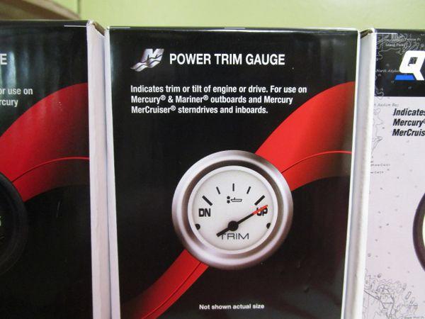 NEW by Mercury power trim gauge 79-895292A41