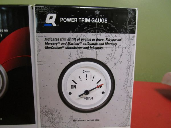 power trim gauge 79-895292Q21