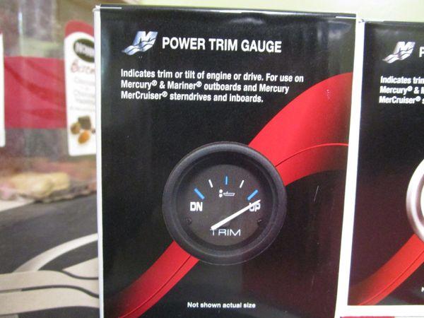 NEW Mercury power trim gauge 79-895292A01