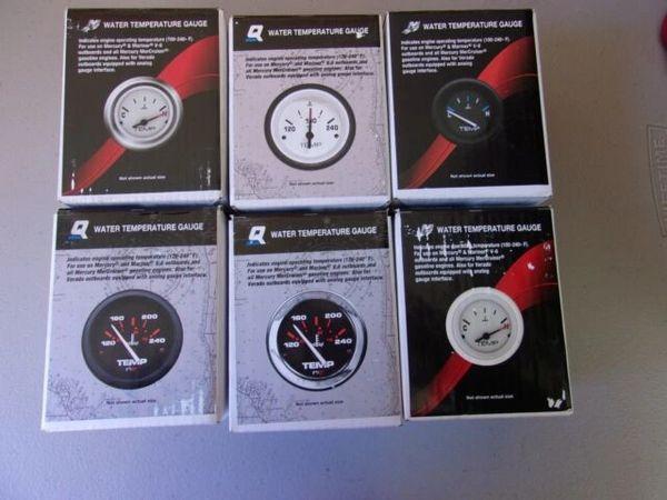 New Mercury water temperature gauge 79-895287Q21