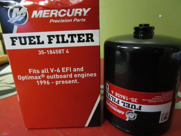 35-18458T4 fuel filter by Mercury