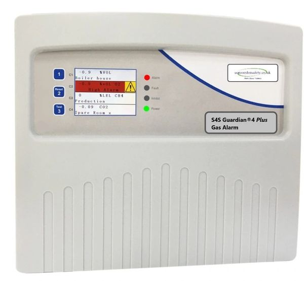 S4S Guardian® 4 Plus Gas Detection Control Panel