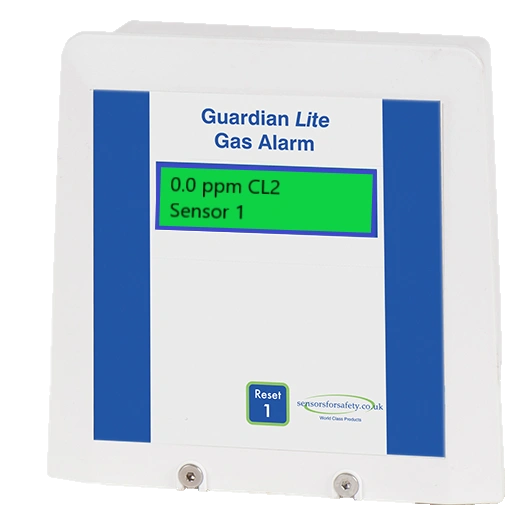 S4S Guardian® Lite Chlorine Gas Detection System Standard Installed Package