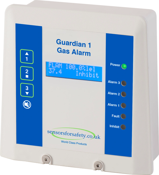 S4S Guardian® 1 Gas Detection Control Panel