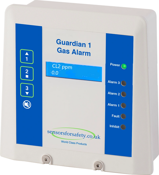 S4S Guardian® 1 Chlorowarn Chlorine Gas Detection System Installed Package