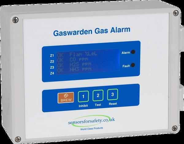 S4S Gaswarden Pub Cellar Gas Detection System Package