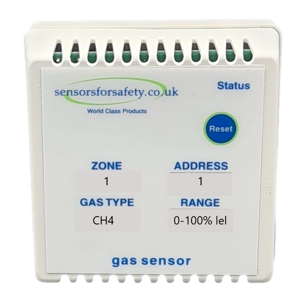 S4S Gaswarden Gas Alarm Sensor c/w Power Output to Gas Valve