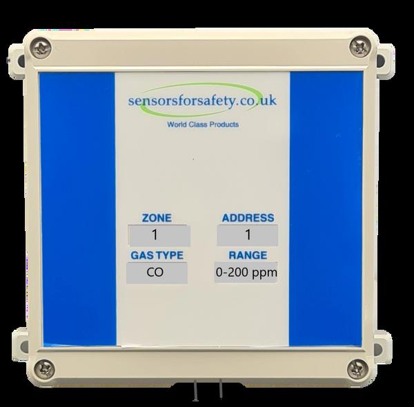 S4S Gaswarden Gas Alarm Sensor Duct Mount Weatherproof