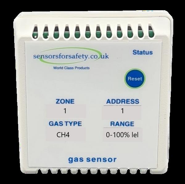 S4S Gaswarden Gas Alarm Sensor Duct Mount