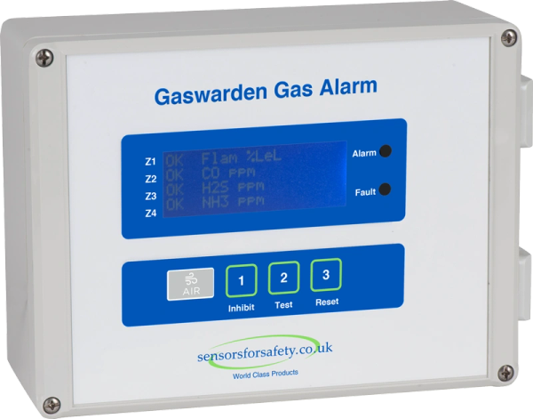 S4S Gaswarden Gas Alarm (Air)