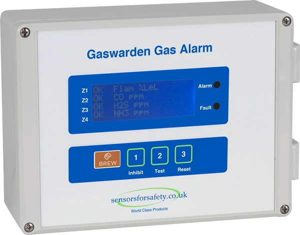 S4S Gaswarden Gas Alarm (Brew)