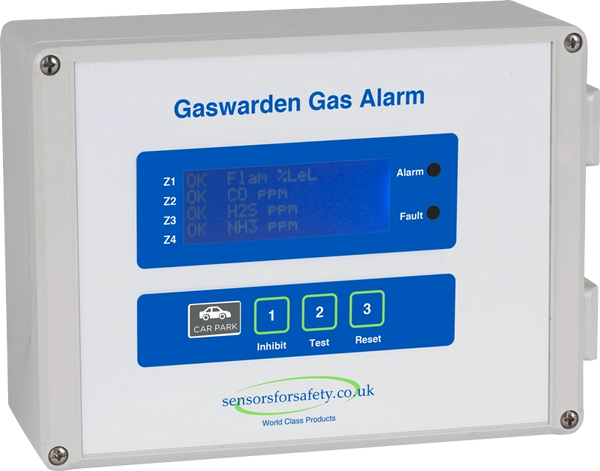 S4S Gaswarden Gas Alarm (Car Park)