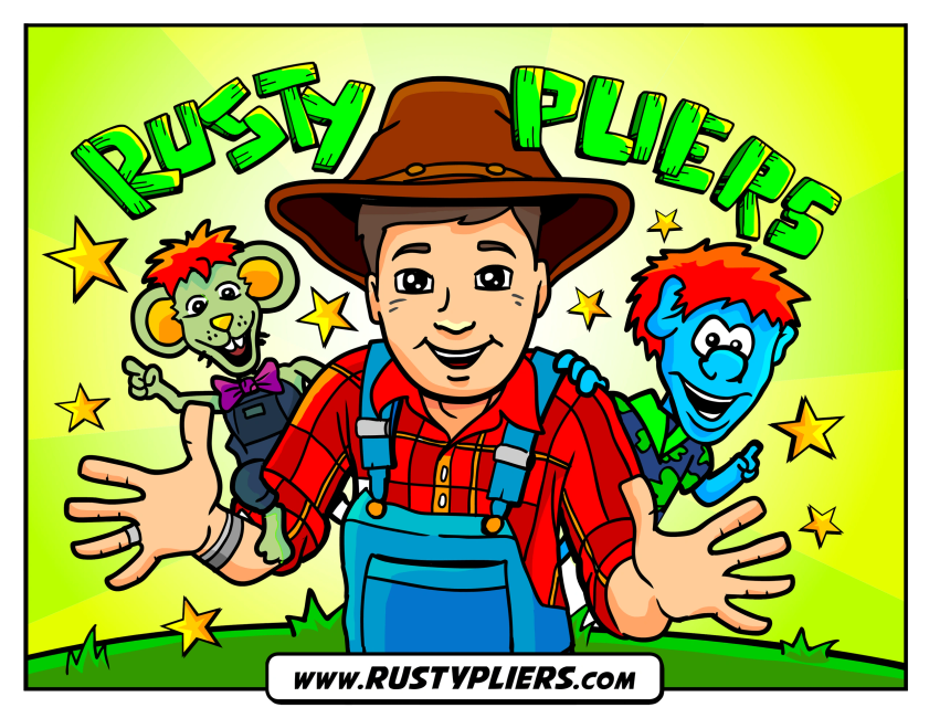The Story of Rusty Pliers is a Story/Coloring Book.