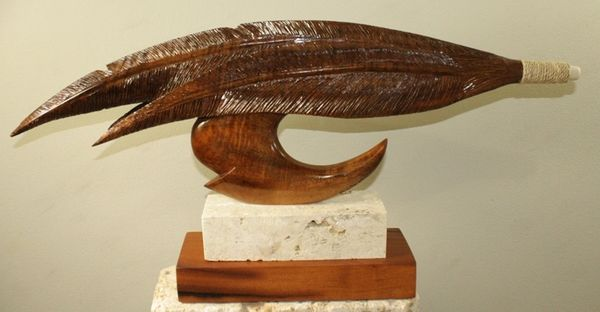 """Fly"" Circle Hook Sculpture"
