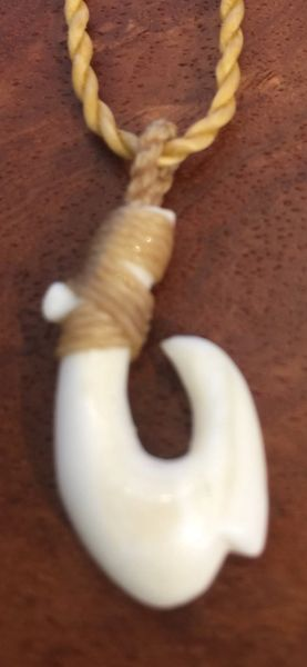 Island Fish Hook Ivory Mini