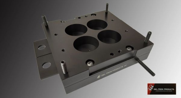 HOLLEY 2-4 BARREL CARB DRY FLOW TESTING FIXTURE