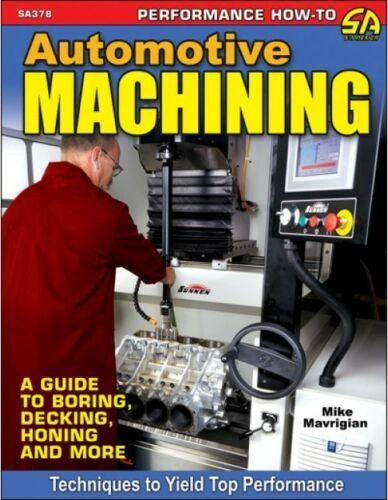 AUTOMOTIVE MACHINING BORING,DECKING,HONING SA DESIGN 378