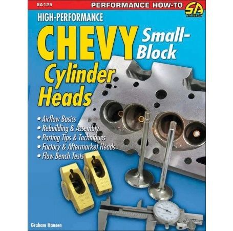 HIGH PERFORMANCE CHEVY SMALL BLOCK HEADS SA DESIGN 125