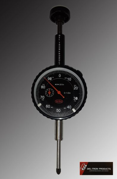FLOW BENCH FLOW TESTING EL-TYPE DIAL INDICATOR .001""
