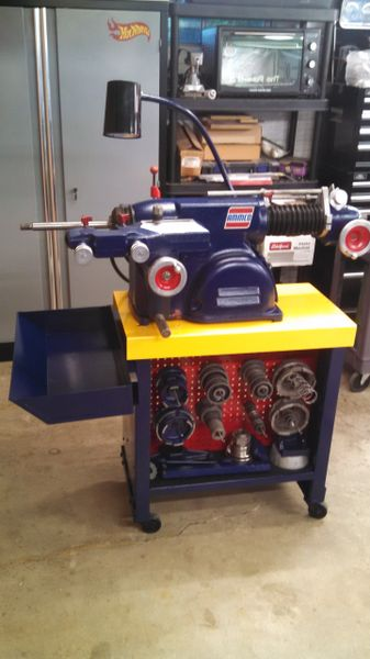 AMMCO 4000 ROTOR AND DRUM BRAKE LATHE W/TOOLING