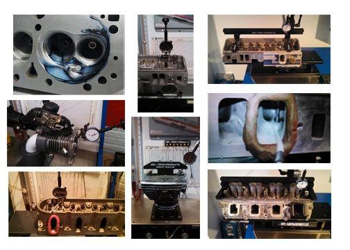 FLOW TESTING V8 AUTOMOTIVE CYLINDER HEADS