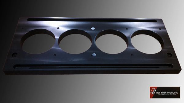 FLOWBENCH BORE SIMULATOR SLIDER PLATE MOPAR 440 4.320""