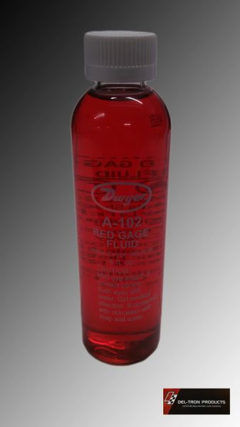 FLOW BENCH RED GAUGE OIL 4 oz