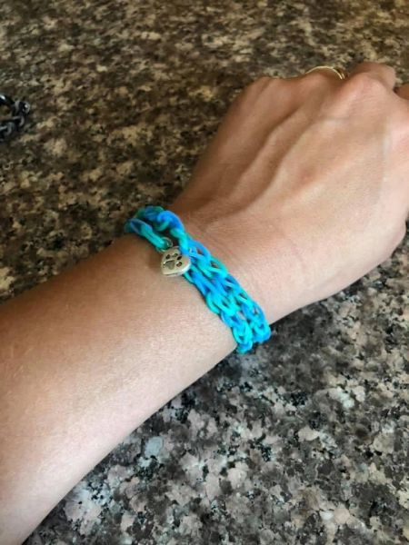 Double style Loom Band Bracelets