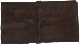 Tool Roll - Suede Leather