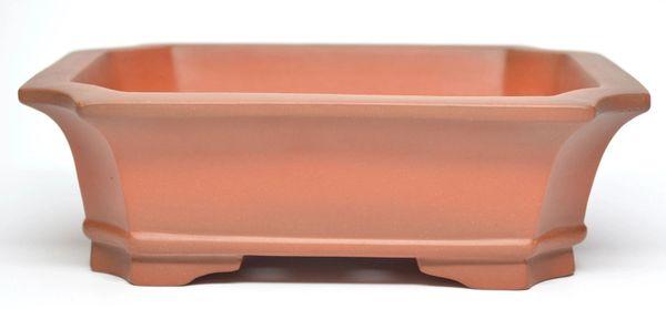 Unglazed Rectangle Chinese - High Quality Pot - 7x5.5x2.25