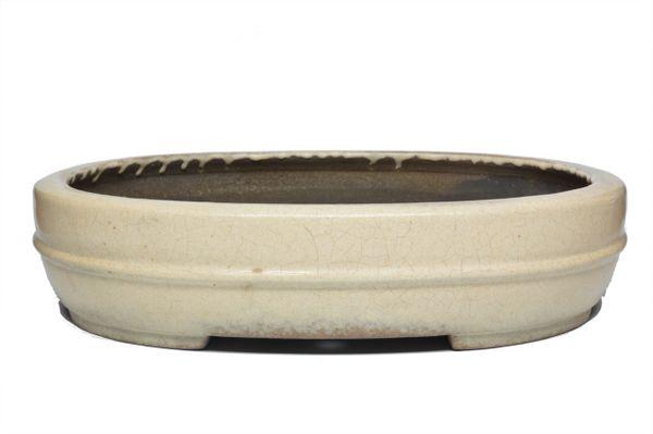 "Japanese Koyo Glazed pot 13 1/4"""